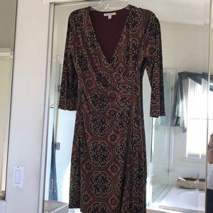 Hawthorne ladies dress jersey knit long sleeve